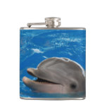 Lovable Dolphin Flask