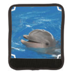 Lovable Dolphin Luggage Handle Wrap