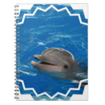 Lovable Dolphin Notebook