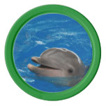 Lovable Dolphin Poker Chips Set