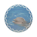 Lovable Dolphin Sandstone Coaster