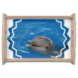 Lovable Dolphin Serving Tray